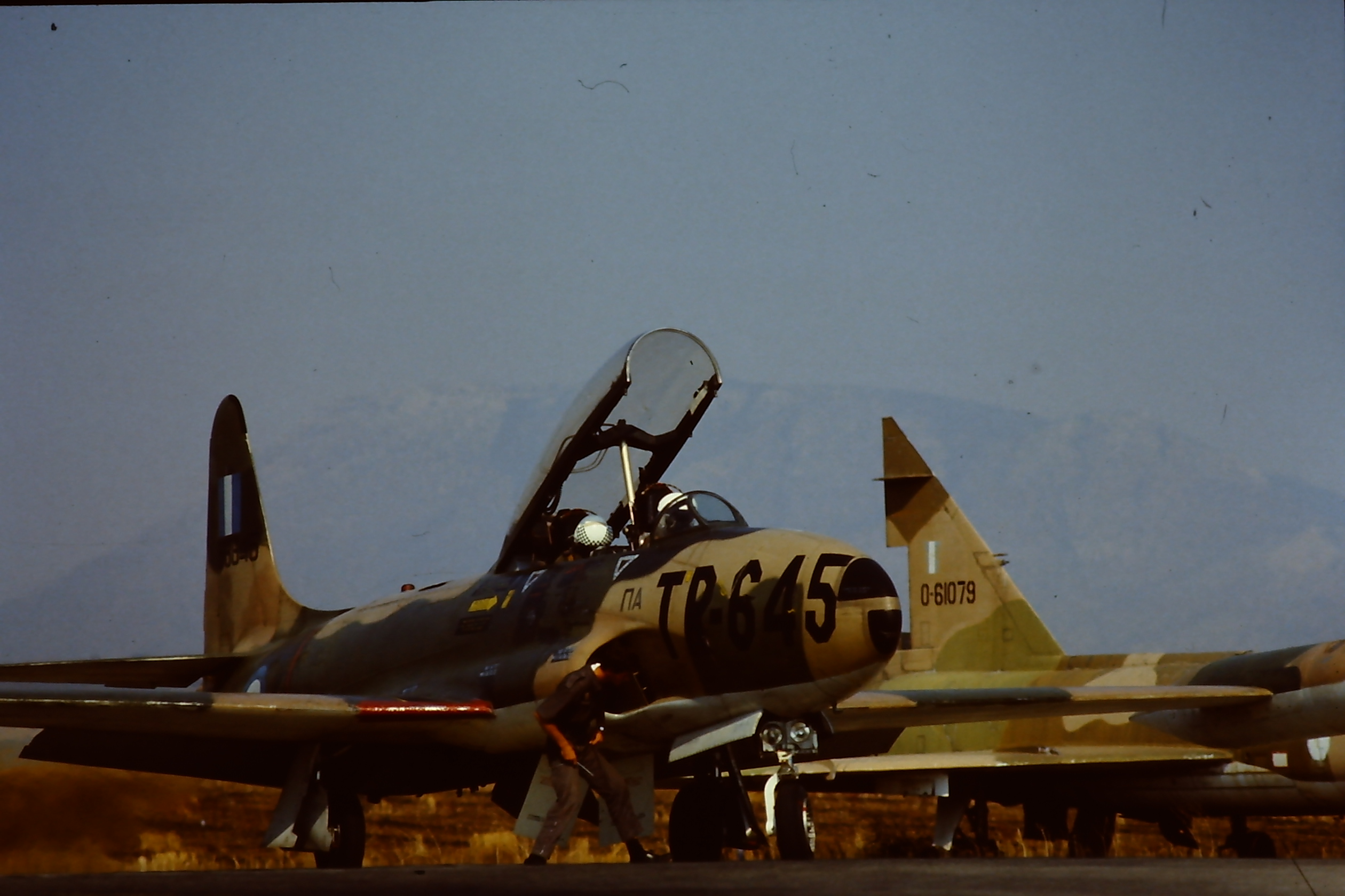 T 33 TR 645 GrAF On Flight Line